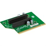 Supermicro 2U Right Hand Side WIO Riser Card - 2x PCI-E x4 signal / 2x PCI-E x8 output