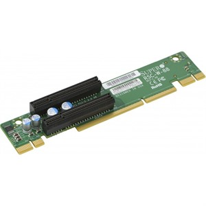 Supermicro 1U WIO Left-Side Passive Riser Card - 8x PCI-E x8 Signal and 2x PCI-E x8 Output