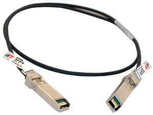 Gore 1 Meter, 32-AWG cable for 10Gb and 8Gb Fibre SFP+