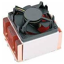 Supermicro 3U+ Active 4-Pin Copper Heatsink