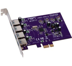 Allegro 4-port USB 3.0 PCIe Adaptor by Sonnet