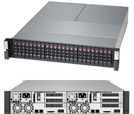 Supermicro SuperStorage Server 2028R-DE2CR24L