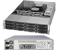 Supermicro SuperStorage Server 6027R-E1R12N