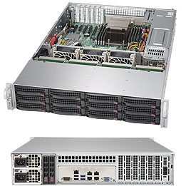 Supermicro SuperStorage Server 6028R-E1CR12N