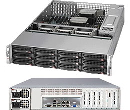 Supermicro SuperStorage Server 6028R-OSD072