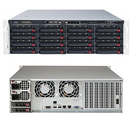 Supermicro SuperStorage Server 6038R-E1CR16H