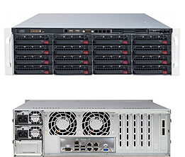 Supermicro SuperStorage Server 6038R-E1CR16N
