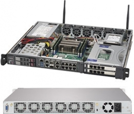 Supermicro SuperServer 1019D-16C-FHN13TP-1