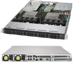 Supermicro SuperServer 1028UX-LL2-B8 - Complete System
