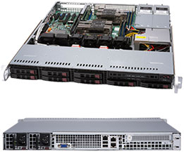 Supermicro SuperServer 1029P-MTR (Black)