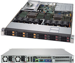Supermicro Super Server 1029U-TN12RV-NEBS
