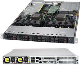 Supermicro SuperServer 1029UX-LL1-S16 - Complete System