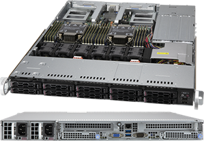 Supermicro CloudDC SuperServer 120C-TN10R
