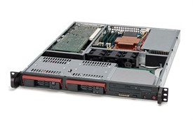 Supermicro SuperServer 5015M-T+B (Black)