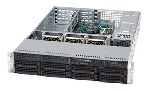 Supermicro SuperServer 5025M-URB (Black)