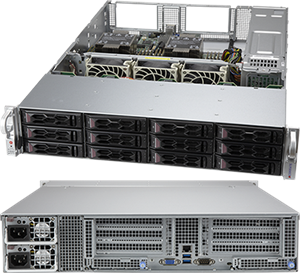 Supermicro CloudDC SuperServer 620C-TN12R