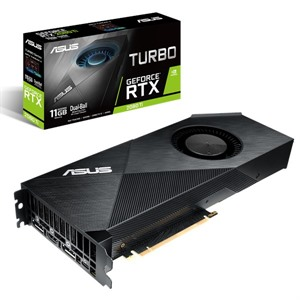 ASUS NVIDIA GeForce RTX 2080 Ti 11GB TURBO Turing Graphics Card