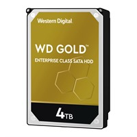 "WD Gold Enterprise-Class Hard Drive 4 TB internal 3.5"" SATA 6Gb/s 7200 rpm buffer: 256 MB"