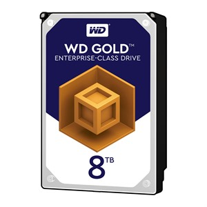 "8TB WD Gold WD8003FRYZ, 3.5"" Enterprise HDD, SATA III - 6Gb/s, 7200rpm, 256MB"