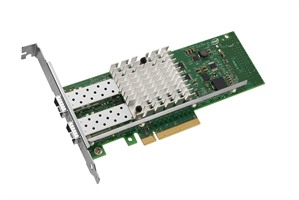 Intel X520-DA2 2 Port Network Adaptor PCIe Converged with normal & Low Profile Bracket