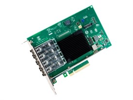 Intel® 4 Port 10 Gigabit SFP+ PCIe Network Adaptor