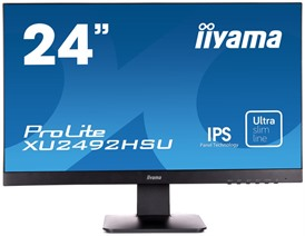 "Iiyama ProLite 24"" IPS Monitor with Speakers"